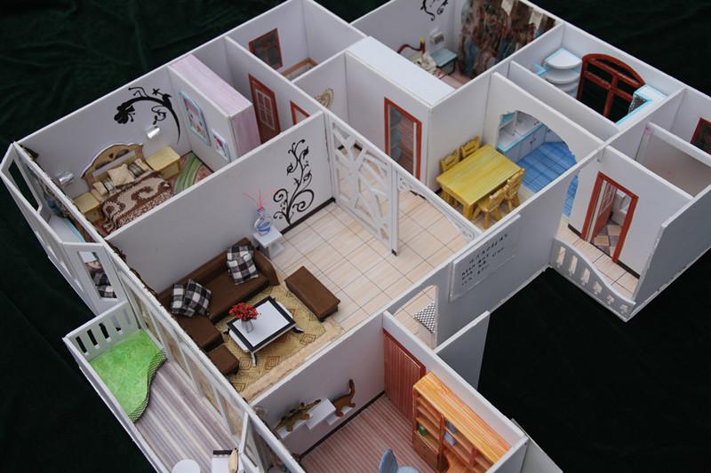 我院举行工艺美院薛丽芳老师室内模型制作教学成果展
